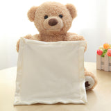 Cute Peek a Boo Teddy Bear Plush Toy