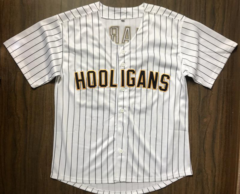 Hooligans Men's Baseball Jersey