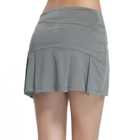 Pleated Two in One Tennis Skirt