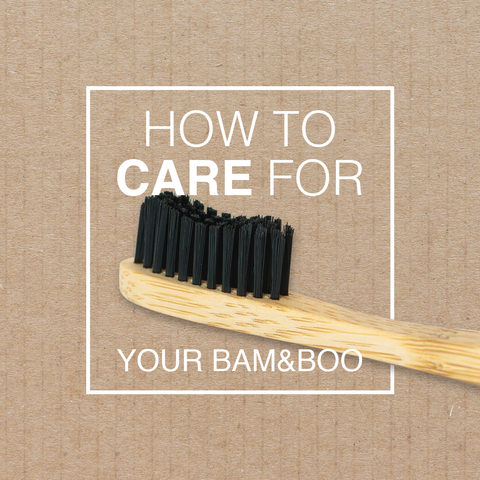 How to care for a bamboo toothbrush in 3 easy tips