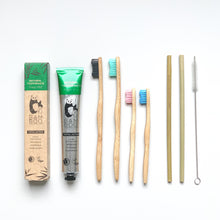 GIFTPACK #4 Eco Family - Bamboo Toothbrush Bam&Boo - Eco friendly, vegan and sustainable