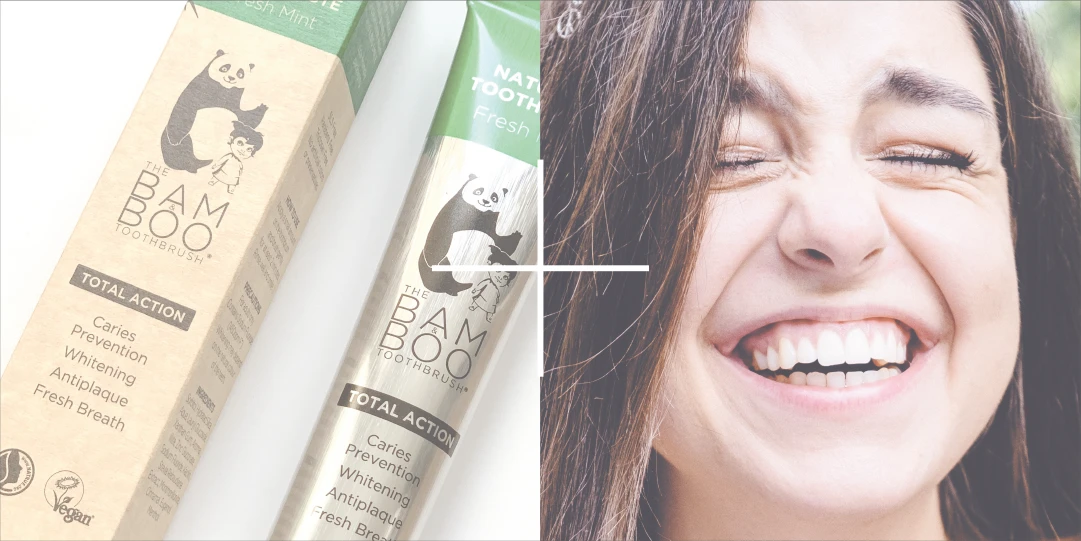 The Bam&Boo Natural Toothpaste