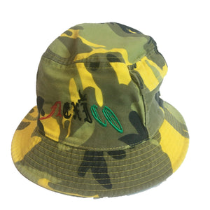 YELLO CAMO BUCKET