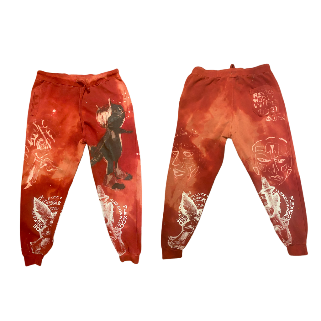Hand Dyed Sweats xL