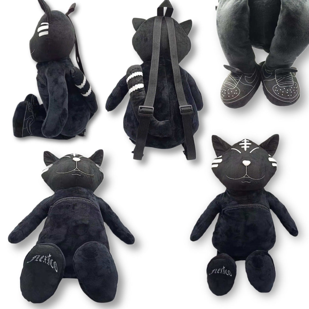 100 of 100 Lucky Jazz Cat Black Travel Buddy 27inch