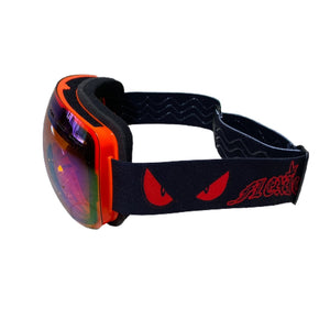 Flexico Orange Frame Goggles