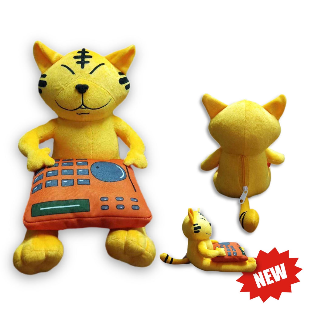 Lucky Jazz Cat Plush + MPC777
