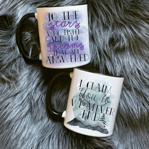 Bookish Couple Mug
