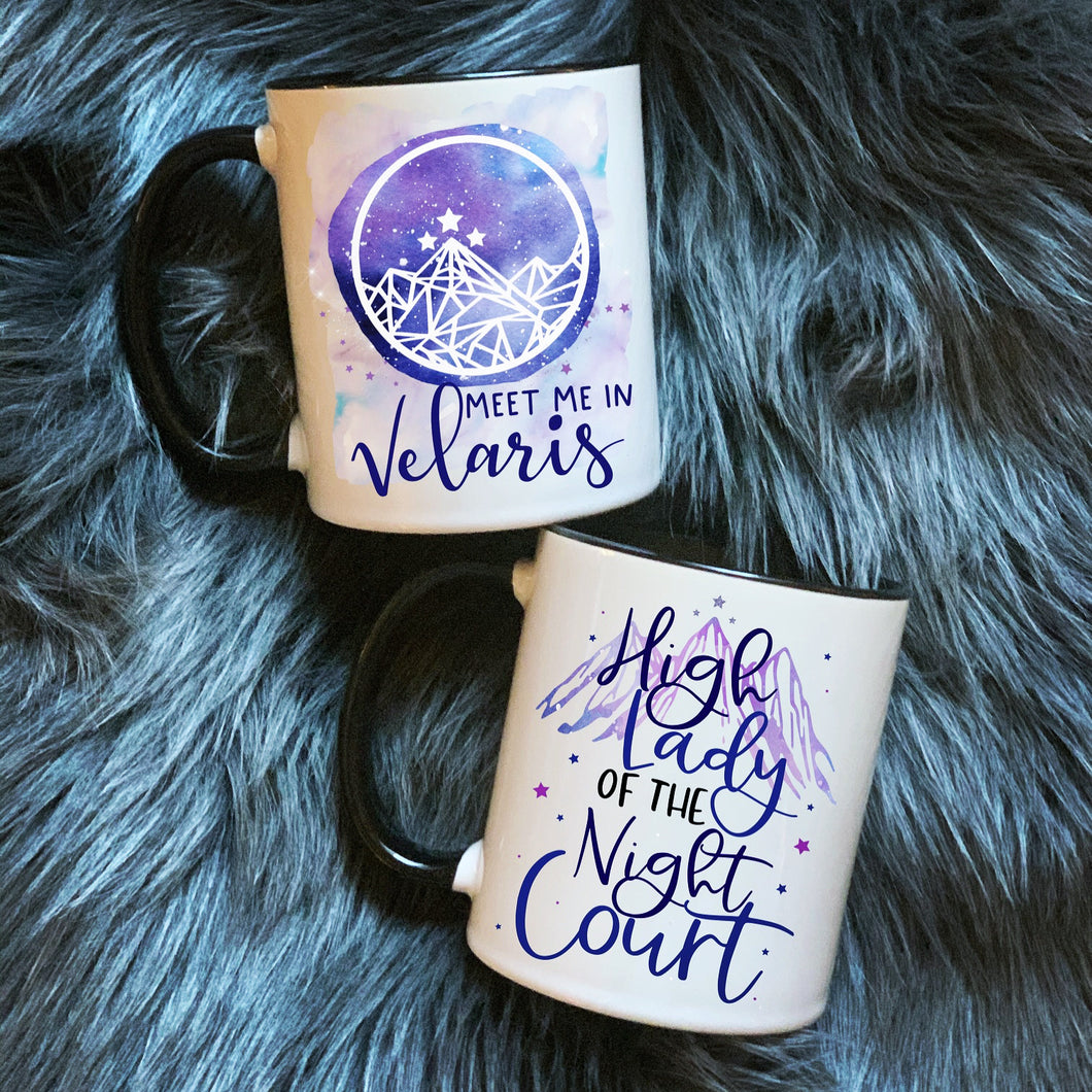 Velaris or High Lady Mugs
