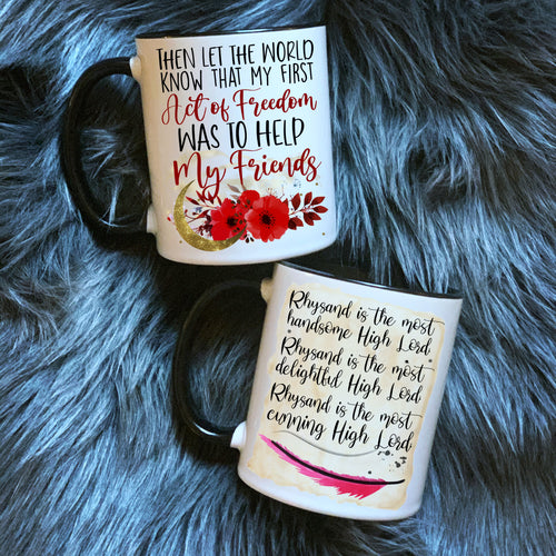 Bookish Coffee Mug