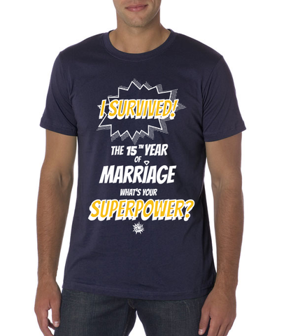Marriage Superpower Unisex/Men's T-shirt
