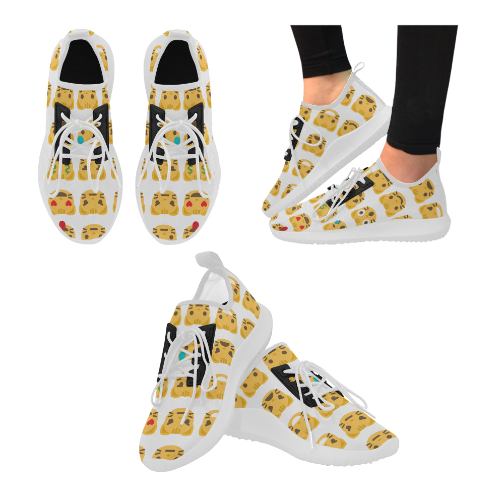 Women Cat Emoji Running Shoes