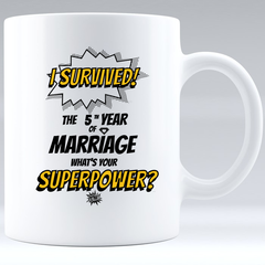 Marriage Superpower mug