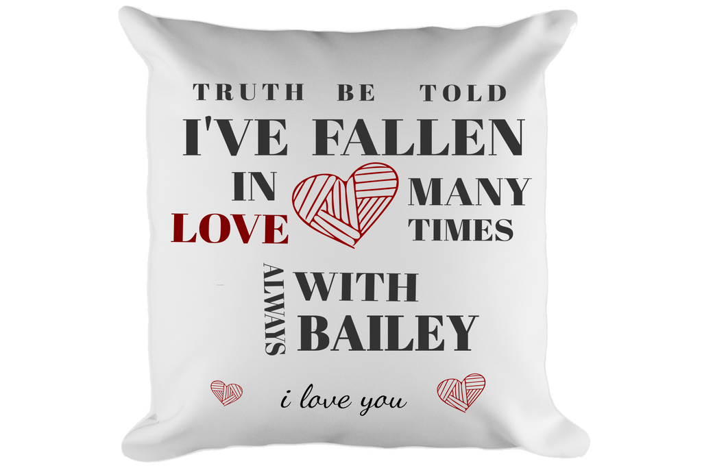 Truth Be Told Pillow