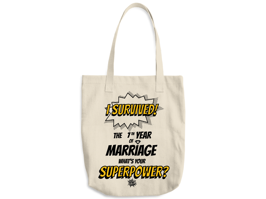 Marriage Superpower Tote Bag