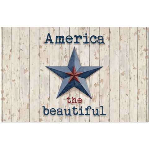 America the Beautiful placemat - Creative Whims