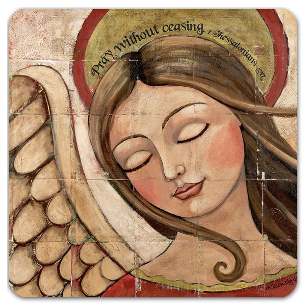 Pray Angel Coaster Set - Creative Whims