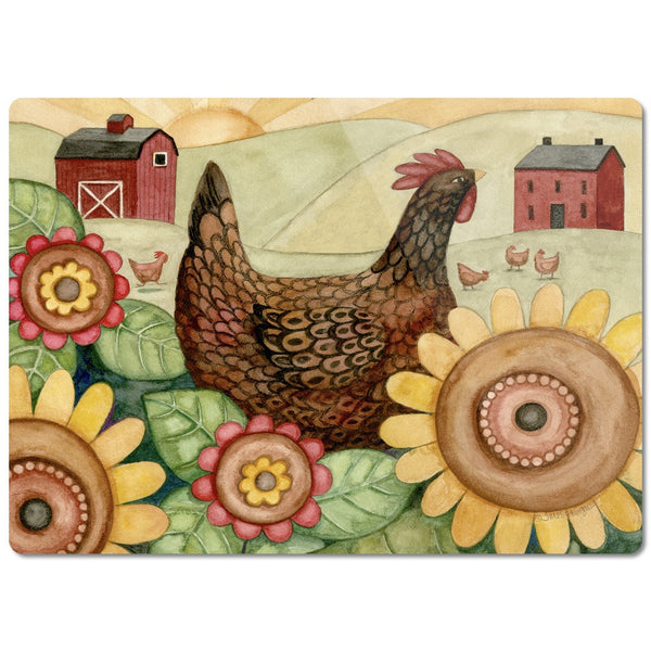 Farmer's Sunrise Cutting Board - Creative Whims