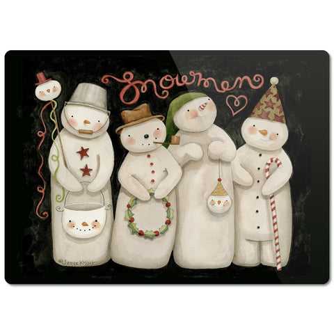 Snowmen Cutting Board - Creative Whims
