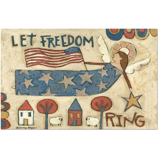Let Freedom Ring placemat - Creative Whims