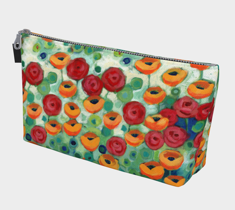 California Poppies Makeup Bag - Creative Whims