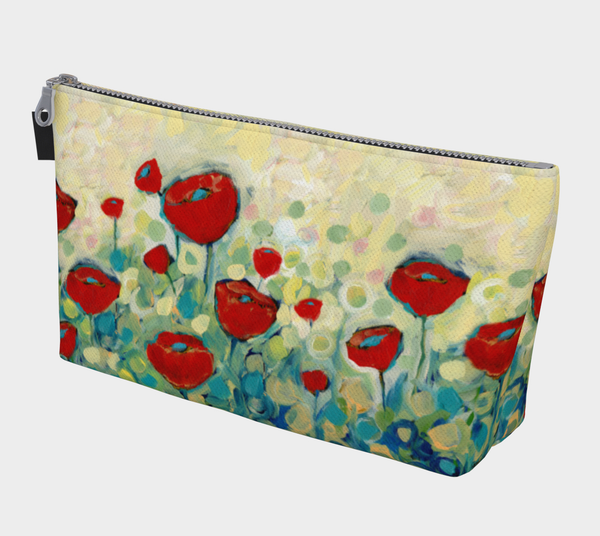 Poppy Garden Makeup Bag - Creative Whims
