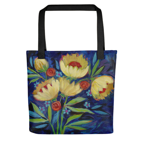 Sunflower Bouquet Tote bag - Creative Whims