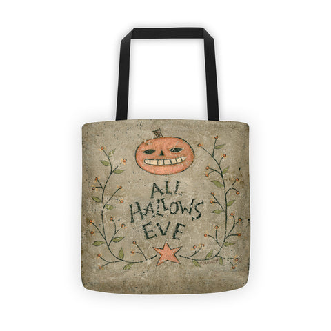 All Hallows Eve Tote bag - Creative Whims