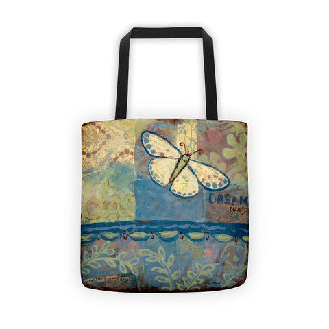 Dream Butterfly Tote bag - Creative Whims
