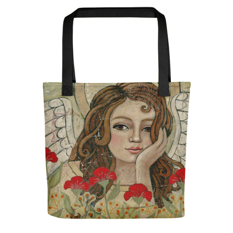 Among the Reds Tote bag