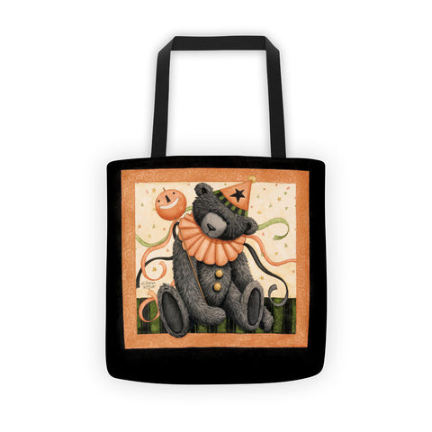 Halloween Party Bear Tote bag - Creative Whims