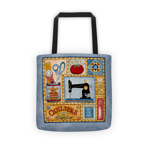 Quilters Friends Tote bag - Creative Whims