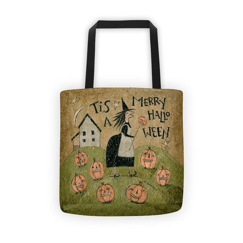 Merry Halloween Tote bag - Creative Whims