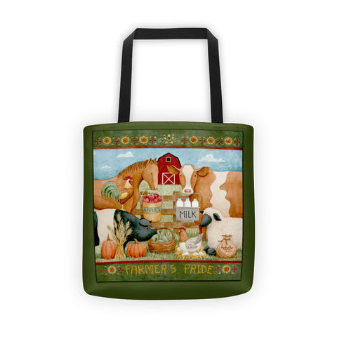 Farmer's Pride Tote bag - Creative Whims