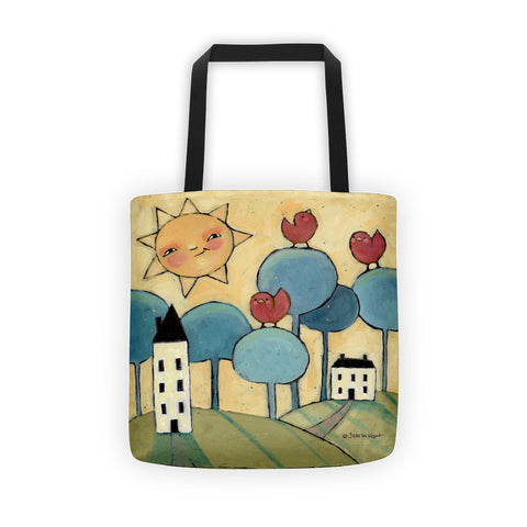 Sunny Day Tote bag - Creative Whims