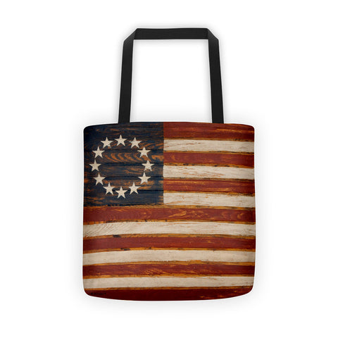 American Flag Tote bag - Creative Whims