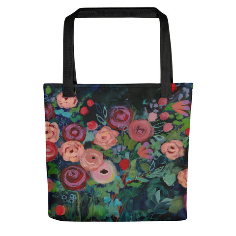 Rose Garden Tote bag - Creative Whims