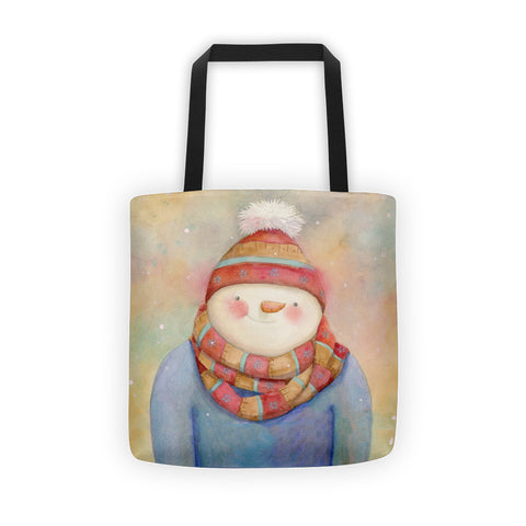 Stylin Snowman Tote bag - Creative Whims