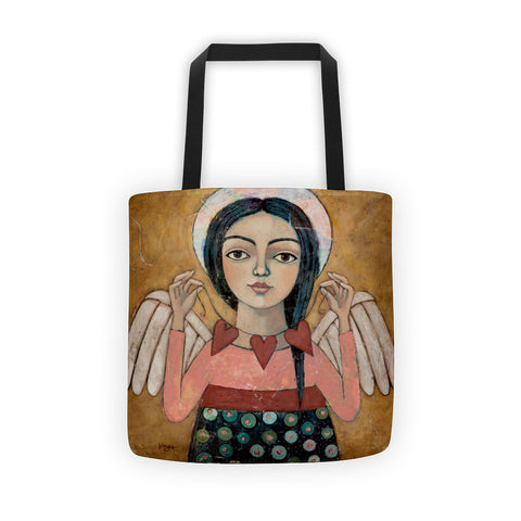 Heartstrings Tote bag - Creative Whims