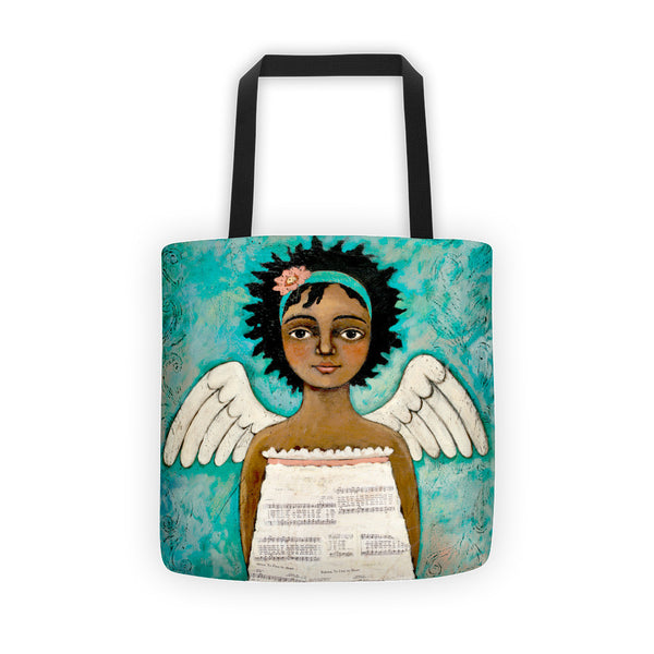 Speaks with Grace Tote bag - Creative Whims