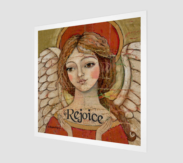Rejoice Art Print - Creative Whims