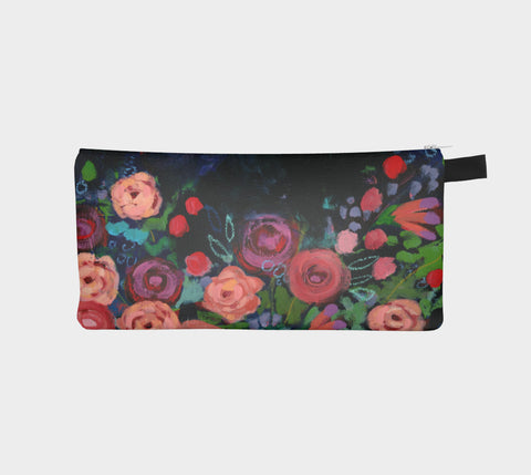 Rose Garden Pencil Pouch - Creative Whims