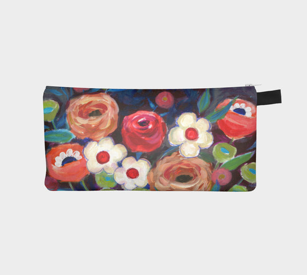 Lovely Bouquet Pencil Pouch - Creative Whims