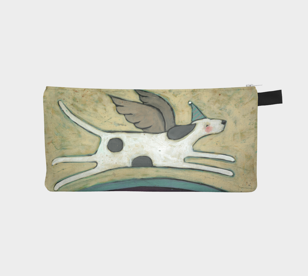 Dogs Go To Heaven Pencil Pouch - Creative Whims