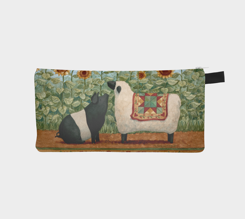 Sunflower Trail Pencil Pouch - Creative Whims