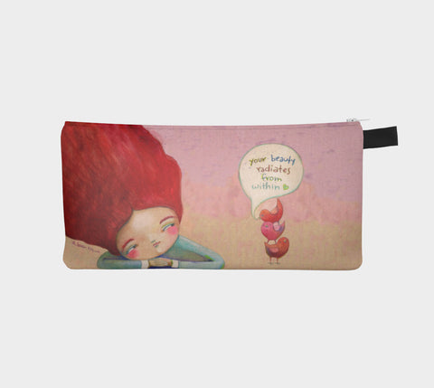 Your Beauty pencil pouch - Creative Whims