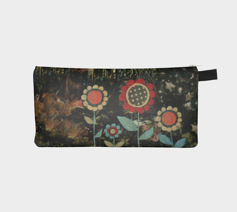 Friends Boho Flowers pencil pouch - Creative Whims