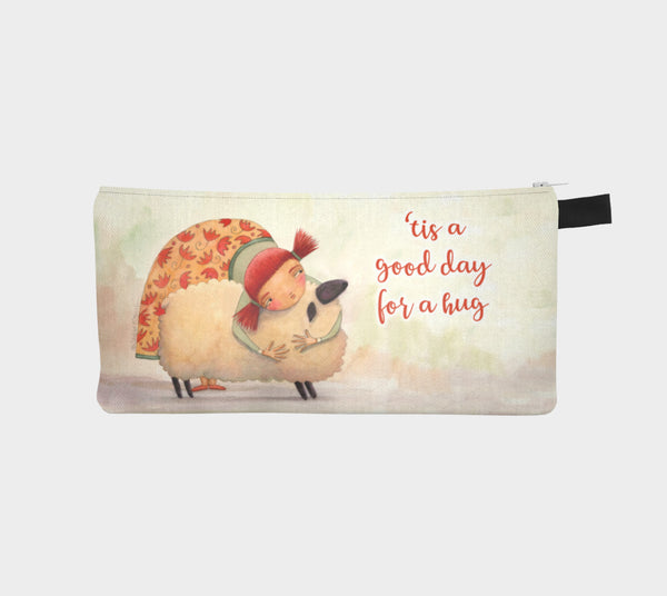 Hug Ewe pencil pouch - Creative Whims