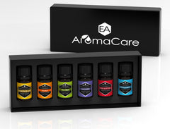 EA AROMACARE TOP 6 ESSENTIAL OILS GIFT SET BLACK BOX