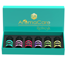 EA AROMACARE REFRESHER PACK BLENDED OILS (GREEN)